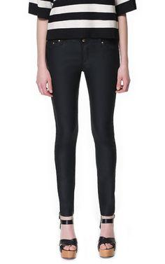 PANTALÓN COATING - Pantalones - Mujer - ZARA España 30€