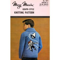 4274a42d8 Astronaut Cardigan Pattern. marymaxim.ca. Sweater PatternsCardigan PatternKnitting  PatternsFair Isle ...