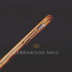 ZEBRAWOOD MKIII for iPhone 6. #zebrawood #iphoneonly #darkwood #getyours by darkwoodcases