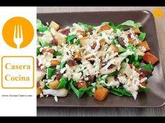 Ensalada César casera con pollo. Receta fácil y Vídeo | Recetas de Cocina Casera - Recetas fáciles y sencillas