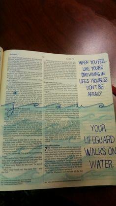 bible journals - Google Search More Bible Drawing, Bible Doodling, Faith Bible, Mark Bible, Scripture Study, Bible Art, Illustrated Faith, Kirchen, Journal Inspiration