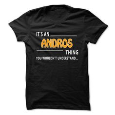 Cool Andros thing understand ST421 T-Shirts