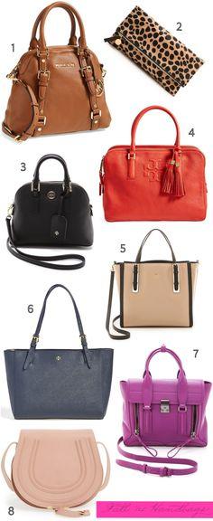 Fall Handbag Shopping