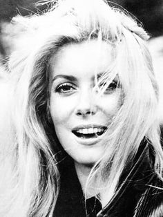 Metal Print: Catherine Deneuve : 16x12in