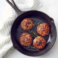 How to Make Easy Homemade Breakfast Sausage   A little maple syrup in the blend adds a hint of sweetness and helps the patties develop a beautifully caramelized crust. While we like them for breakfast, they have enough savoriness that they'd also be great at dinner.