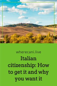 Italian citizenship may be easier than you think.  Read out article on ways to achieve this.  #italy #italian #citizenship Living In Italy, Living In Europe, Getting A Passport, Italian Language, Digital Nomad, Citizenship, Retirement, Travel Tips, How To Find Out