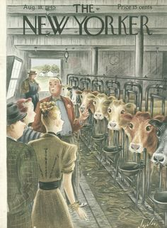 The New Yorker - Saturday, August 18, 1945 - Issue # 1070 - Vol. 21 - N° 27 - Cover by : Constantin Alajalov