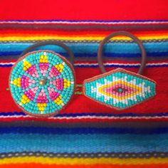 ピンク&イエローでターコイズネイティヴヘアゴムをリクエスト いつものターコイズヘアゴムよりも、優しい感じになりました。 気に入っていただけますように 2017.04.30 #beads #beadswork #beadsaccessory #handmade #handmadeaccessory #nativeamericanbeadwork #ビーズ#ビーズ刺繍#刺繍#ヘアゴム#ネイティヴ #ネイティヴ柄#オルテガ柄 #エスニック#ハンドメイド#ハンドメイドヘアゴム