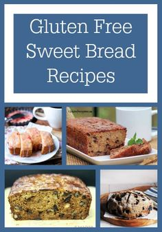 Gluten Free Bread Recipes are so much better when they include fruit! These easy bread recipes are perfect for breakfast, snacks, dessert.. Basically whenever.