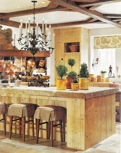 "Really love this kitchen...would love to spend time here cooking a magnificent dinner.  A Flippen Life: Pamela Pierce's ""Rustic Sophistication"""