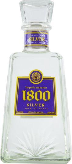Dieser weiße Jose Cuervo 1800 Tequila in der Purole & Gold Lakers Edition besitzt einen klaren Geschmack - Kaufen Sie diesen silbernen 1800 Jose Cuervo Tequila