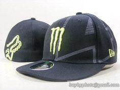 Monster Energy 59fifty Fitted Caps Hats Black New Era Monster Energy dd5c9d5518c9