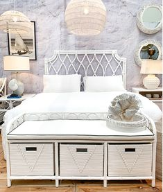 The stunning Georgia Rattan Storage Bench is a practical storage solution for your bedroom. Interest free payment options available. www.finditstyleithome.com.au #rattanfurniture #homeinspo #homewares #interiorinspo #beachhouse #homestloveau #finditstyleithome #onlineshopping Tumblr Bedroom, Bedroom Quotes, Bedroom Signs, Farmhouse Bedroom Decor, Home Bedroom, Bedroom Ideas, Master Bedroom, White Haven, Bedroom Furniture Online
