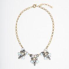 Tiffany Blue Vintage Gem Necklace