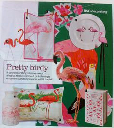 Flamingo Design Trend as first appeared in Australian House Garden in April, 2012.