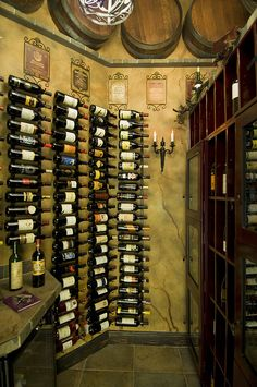 Wine Cellar!! Hmmmm I think that will look great in my wine room!