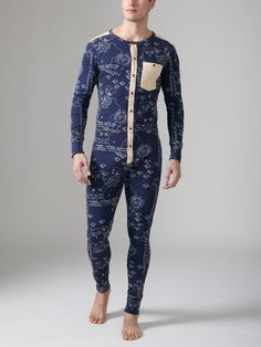 yes, yes, yes, yes, YES | stormare universe union suit. wesc.