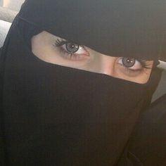 Eyes😍 Niqab Eyes, Hijab Niqab, Mode Hijab, Beautiful Muslim Women, Beautiful Hijab, Hijabi Girl, Girl Hijab, Girl Shadow, Arab Swag