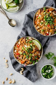 Delicious vegan and easily gluten free Thai quinoa salad with a perfect crunch. Perfect for meal prep lunches, picnics or parties. This salad is a crowd-pleaser!