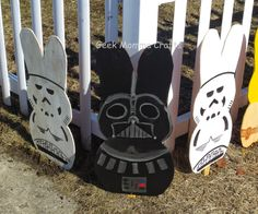 Geek Momma Crafts - Star Wars Easter Display - Check on my blog/Facebook for more pictures