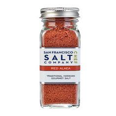 4oz Glass Shaker - Alaea Hawaiian Salt #salt #cooking #flavor #chef