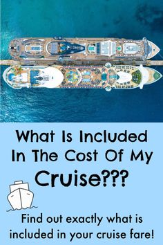 """Wondering what is included in the cost of your cruise? This article explains everything you can expect to enjoy """"free"""" onboard your cruise ship! Packing List For Cruise, Cruise Tips, Cruise Vacation, Vacation Trips, Vacations, Travel Abroad, Travel Tips, Travel Hacks, Travel Ideas"""