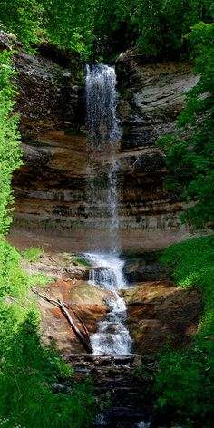 Munising Falls Michigan