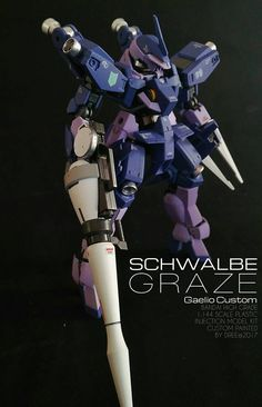 This is a commish work from Dree, nothing fancy but undoubtedly the color scheme on this kit is really a head-turner. (Source)