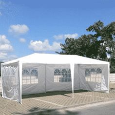 FCH Patio Party Canopy Tent Wedding Outdoor Tent Heavy duty Gazebo Pavilion For Waterproof 4 Window SideWalls, Wedding Canopy Party Canopy, Gazebo Canopy, Backyard Canopy, Garden Canopy, Diy Canopy, Canopy Outdoor, Diy Pergola, Canopies, House Canopy