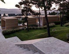 + Arquitetura :   Projeto da Gus Wustemann Architects, a casa esta localizada em Erlenbach (Africa do Sul).
