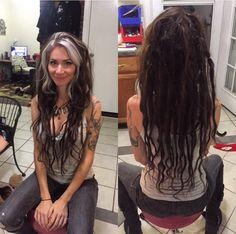 Human hair luxury dreadlock extensions 5