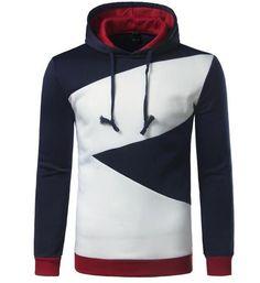 132b9559c381 Hoodies for Men Long Sleeve Hoodie Hip Hop Pullover Sweatshirt Mens Hoodies  Slim Tracksuit