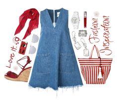 """Fashion inspiration"" by christine-sacco ❤ liked on Polyvore featuring Sandy Liang, Aquazzura, JADEtribe, MeditationRings, Gucci, Ippolita, Urban Decay, Chiara Ferragni, Humble Chic and Linda Farrow"