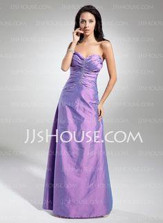 Evening Dresses - $122.19 - A-Line/Princess Sweetheart Floor-Length Taffeta Evening Dress With Ruffle Beading (017014874) http://jjshouse.com/A-Line-Princess-Sweetheart-Floor-Length-Taffeta-Evening-Dress-With-Ruffle-Beading-017014874-g14874