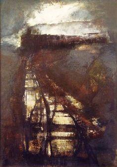 Renzo Vespignani - Il treno, 1962.