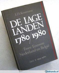 E.H. Kossmann De Lage Landen 1780 1980. Te koop via www.marktplaats.nl, vraagprijs