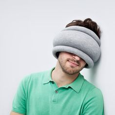 The Ostrich Pillow Light, A Combination Neck Pillow & Sleep Mask for More Comfortable Travel