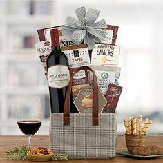 Wine Gift Baskets - Wild Horse Wine Basket