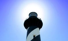 Cape Hatteras Light is a lighthouse located on Hatteras Island in theOuter Banks of North Carolina near the community of Buxton, and is part of the Cape Hatteras National Seashore.The 248 iron spiral stairs to the top equal climbing a 12 story building.