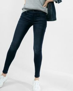 mid rise stretch supersoft ankle jean legging
