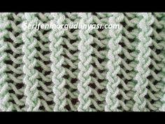 Baby Knitting Patterns, Knitting Stitches, Knitting Designs, Crochet Patterns, Knitting Videos, Crochet Videos, Knit Vest Pattern, Viking Tattoo Design, Sunflower Tattoo Design