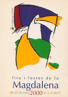 Cartel anuncio de Fiestas del año 2000