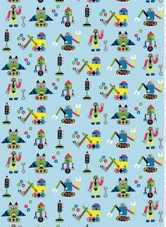 Jakari fabric. Design by Jenni Tuominen for Marimekko.