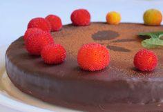 CERO KALORIAS/tarta de chocolate sin huevo ni leche...