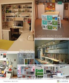 scrapbooking rooms pictures and ideas | Craft/Scrapbook Rooms | Craft Room Ideas