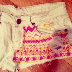 "Check out Nivia Suresh's ""white colored shorts"" Decalz @Lockerz"