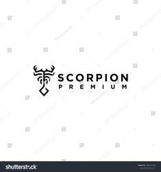 Scorpion logo line art vector symbol animal image vector Line Art Vector, Image Vector, Lab Logo, Logo Line, Animals Images, Scorpion, Royalty Free Stock Photos, Wildlife, Symbols