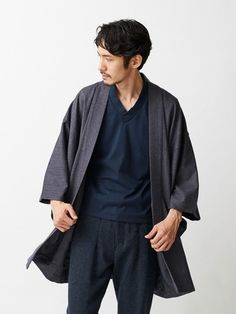 These are the modern Haori jackets sold by Tokyo-based clothing store Trove. They cost around $285 and are made to resemble the jackets worn by samurais over their armor during the Sengoku Period between 1467-1603. And now I'm going...