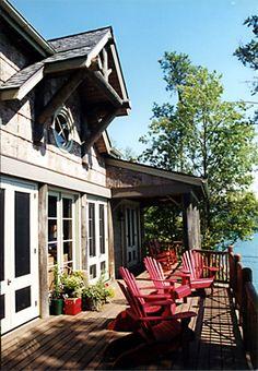 Adirondack Retreat House 06  by Spitzmiller & Norris, Inc.