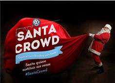 Santa está preocupado porque los cascabeles de Rudolf despiertan a muchos niños. Ayúdanos a regalarle un Volkswagen e-up! para que pueda entrar en todas las casas sin hacer ruido. Únete a